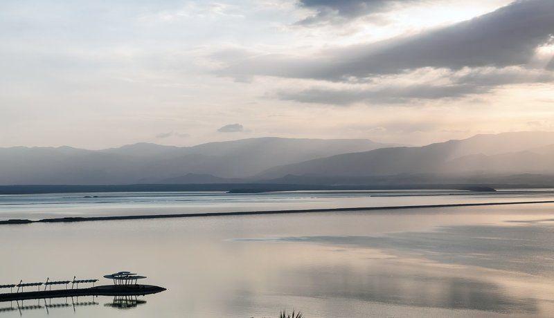 Израиль, Мёртвое море, утро, рассвет Рассвет на Мёртвом море.photo preview
