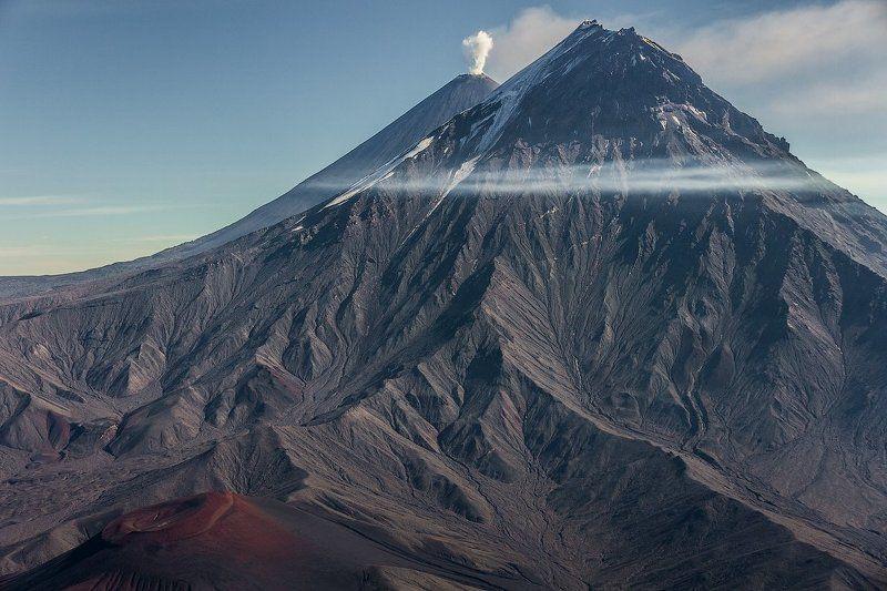Камчатка, вулканы, вершины,вертолет Вулканы-Великаныphoto preview