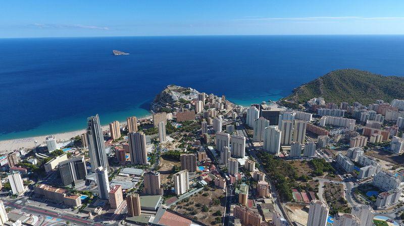 Benidorm, Alicante, Spain ПОЛЁТphoto preview