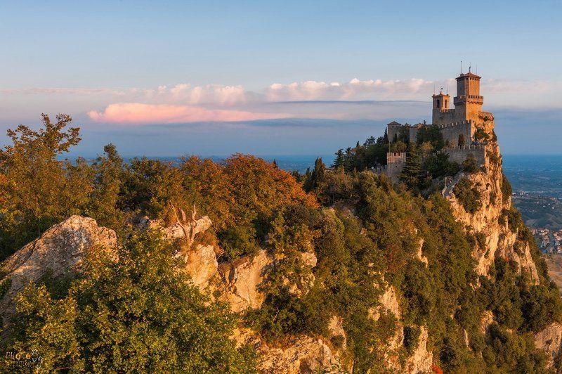 фототур, италия, сан-марино, рассвет, замок Рассвет на Сан-Марино (версия 2)photo preview