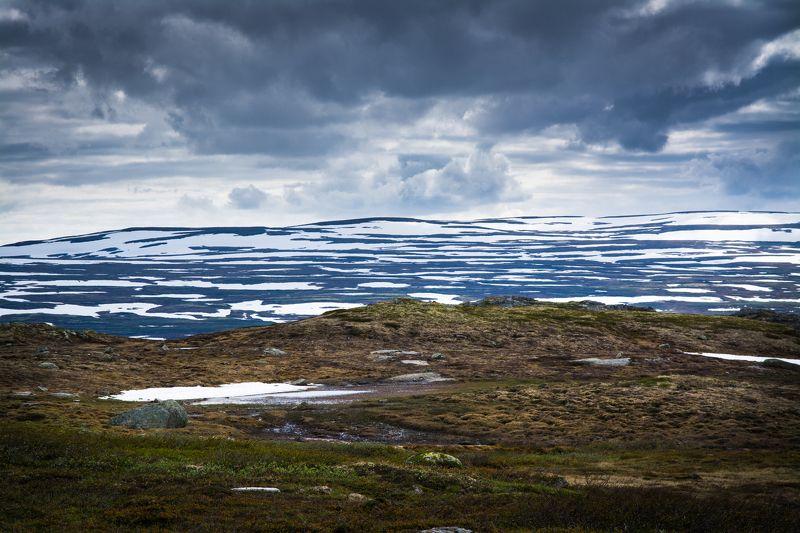 Норвегия, тундра Триединство горной тундрыphoto preview
