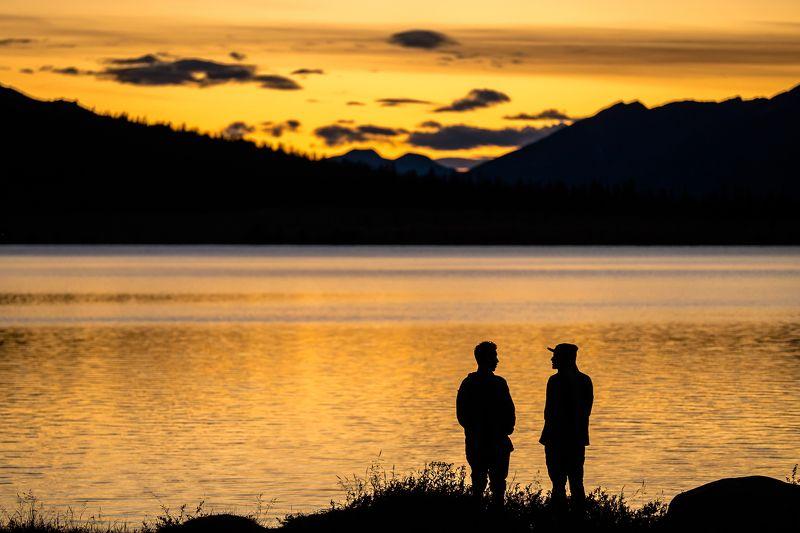 Canada, Alberta, Jasper, Tonquin, mountains Провожая деньphoto preview