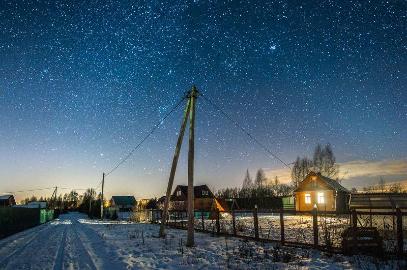деревня Пустынь звёзды дмитров дубна тверь Дом стоит, свет горит...photo preview
