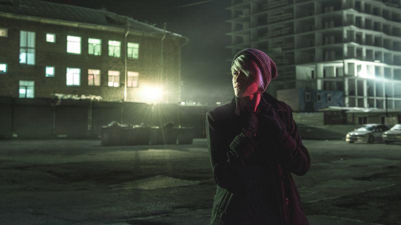 вечерний портрет, городской портрет, улица Еваphoto preview