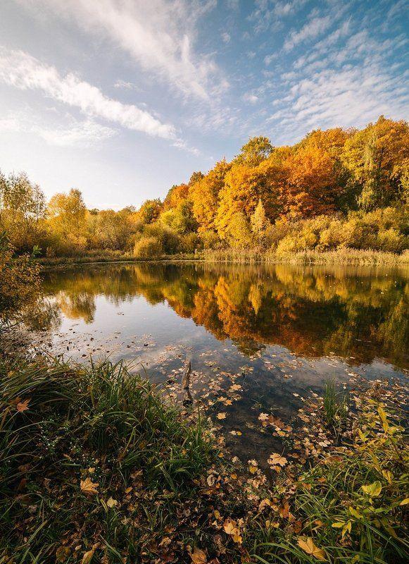 Золотая осень, Озеро, Осень Краски осениphoto preview