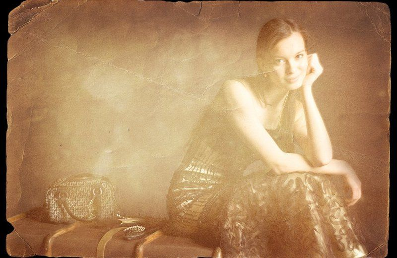 красивая, девушка В ожидании..photo preview