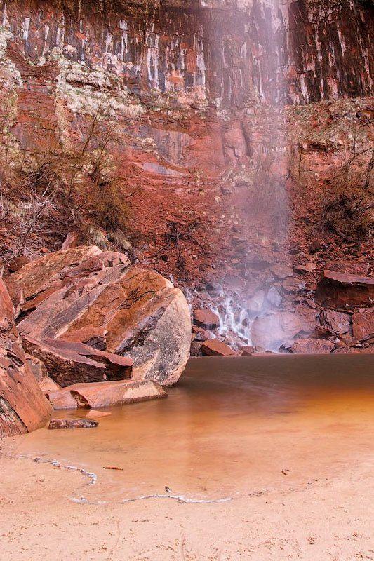зайон, юта, сша, 2010 Верхнее изумрудное озероphoto preview