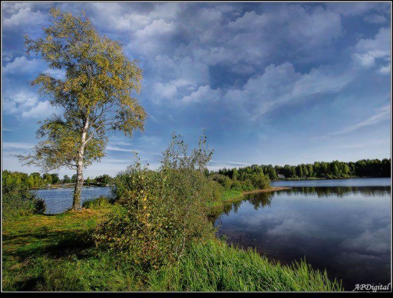 Осенний этюдphoto preview