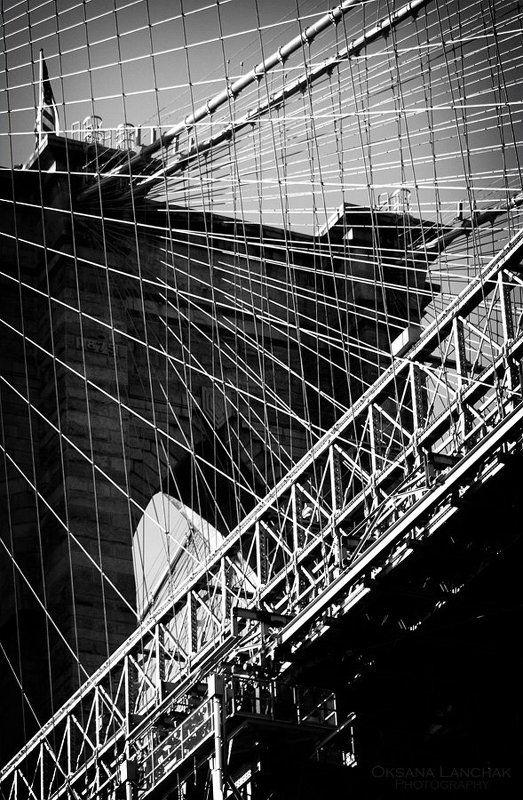 ny, bridge, b&w Bridgephoto preview