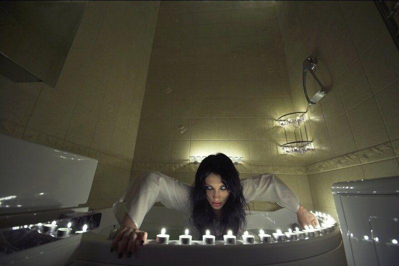 ringu, ring, zombie, scary, girl, bath, bathtub, water, bride, bathroom Здравствуйте, я - ваша тётя !photo preview