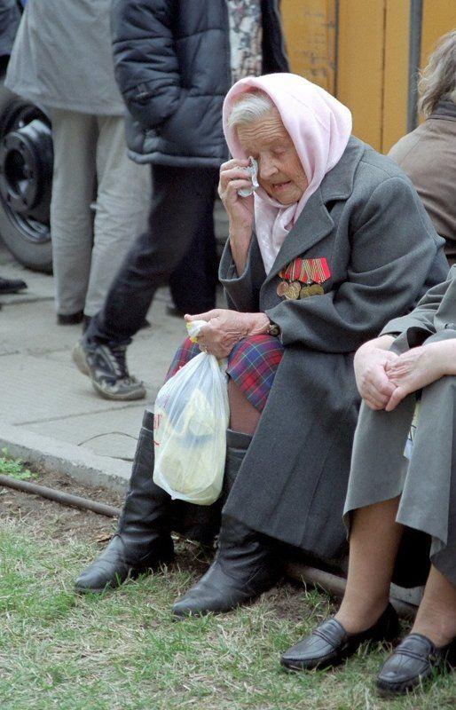 9 мая, победа, ветеран 9 мая 2000 года. Красноярскphoto preview
