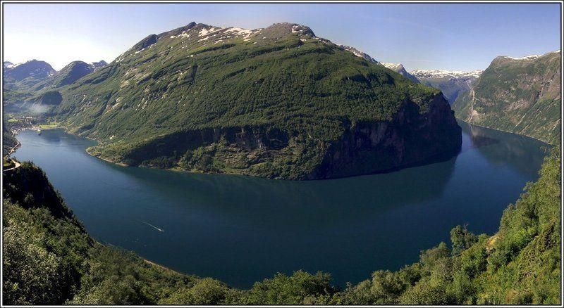 гейрангер, фьорд, норвегия Фьордphoto preview