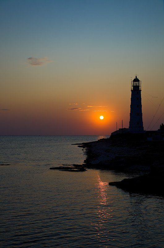 тархакутский, маяк Путь кораблям освещая...photo preview
