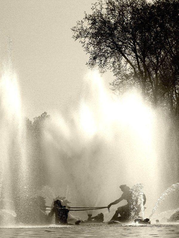 париж, фонтан, версаль Версальская стихияphoto preview