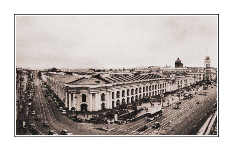 питер, город, стилизация Ленинградский Бродвейphoto preview