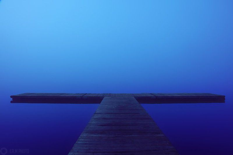 Туман на озере Nydalaphoto preview