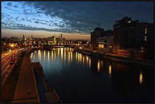 Рассветная Москва