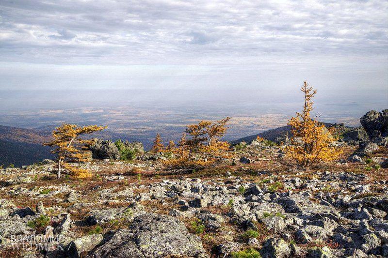Горы, Осень, Северный урал Три сестрыphoto preview