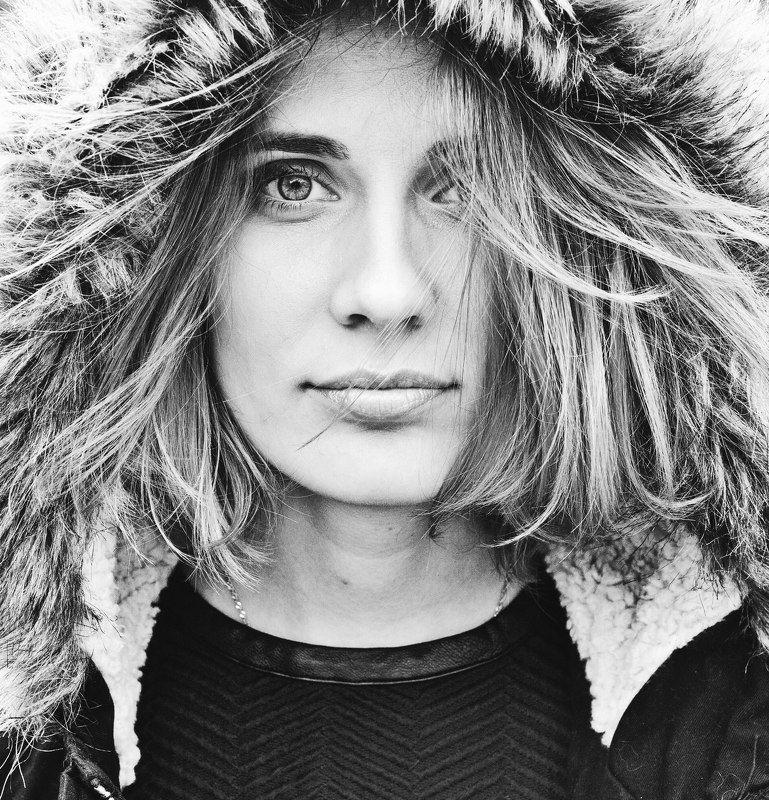 Ветер, Девушка, Красота, Портрет девушки Настасьяphoto preview