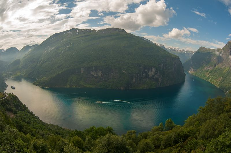 norway, geiranger, fjord Geiranger Fjordphoto preview
