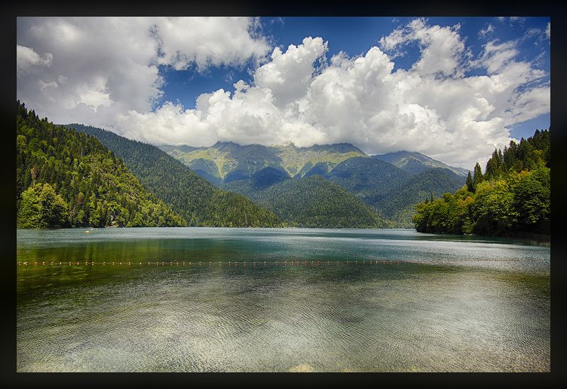 Ritsa Lake Southern Caucasus Ritsa Lake, Southern Caucasusphoto preview