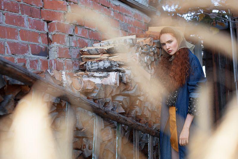 Модель, Осень, Портрет Настяphoto preview