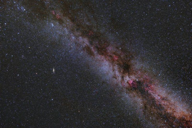 Млечный путь, подмосковье, Туманности Млечный путьphoto preview