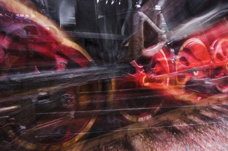 Стоянка паровоза на станции Рязань 2.photo preview