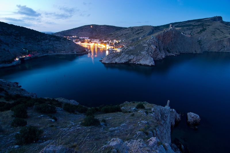 крым, пейзаж, , балаклава, бухта, россия, украина, море, горы, черноеморе Балаклаваphoto preview