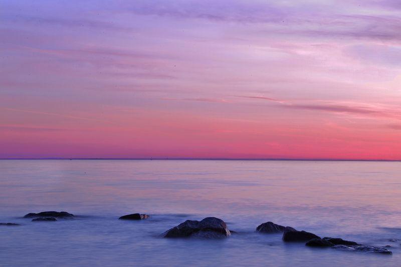 Nature, Sunset, Water, Waterscape, Вода, Выдержка, Длинная выдержка, Закат, Пейзаж SILENCEphoto preview