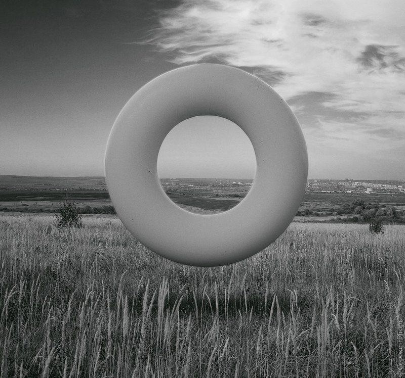 круг, абстракция, пейзаж Файнартphoto preview