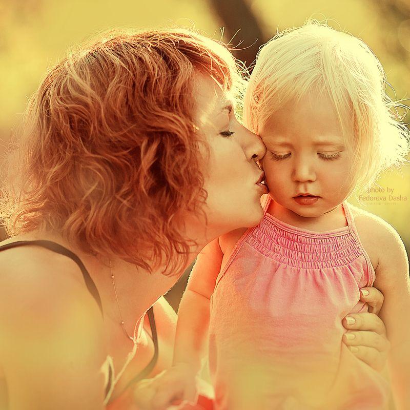 лето, дети, мама, дочка, солнце назад 2012photo preview