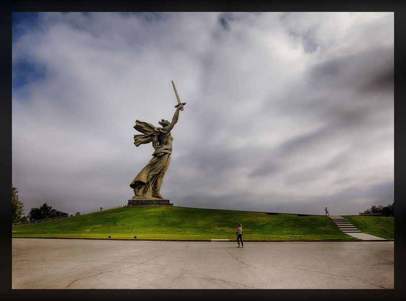 The Motherland Calls Volgograd Russia The Motherland Calls, Volgograd, Russiaphoto preview