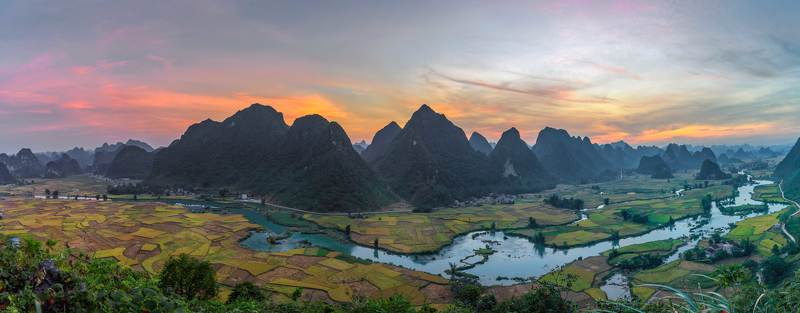 Morning in Ngoc Con, Cao Bang - Vietnamphoto preview