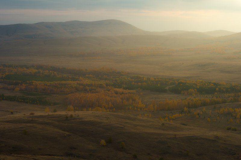 башкирия, урал, траташ, осень, рассвет, утро photo preview