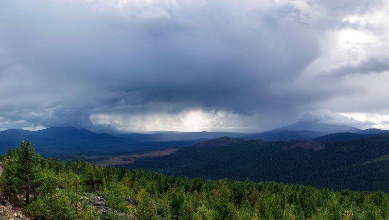 Горы, Небо, Урал Небесное окоphoto preview