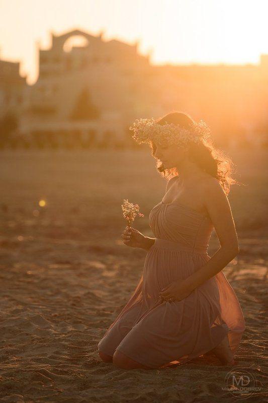 pregnant, беременная, sunshine, beauty, matternity photo preview