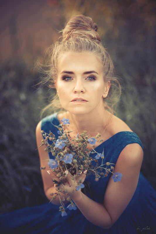 portrait woman summer blonde Alexphoto preview