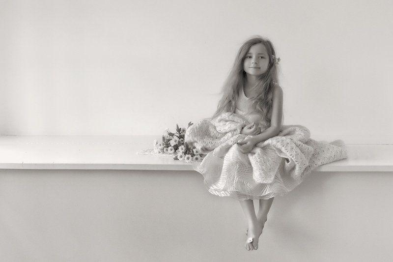 дети, ребенок, девочка, утро Утром photo preview