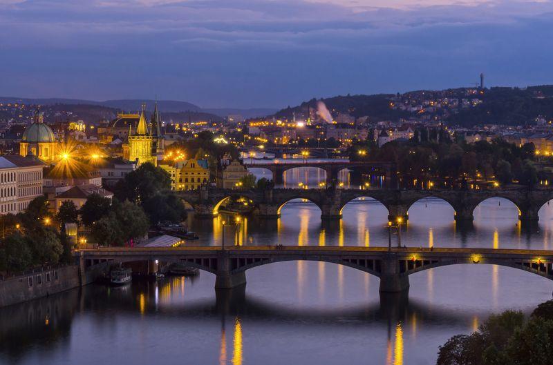 Прага Вечерняя Прагаphoto preview