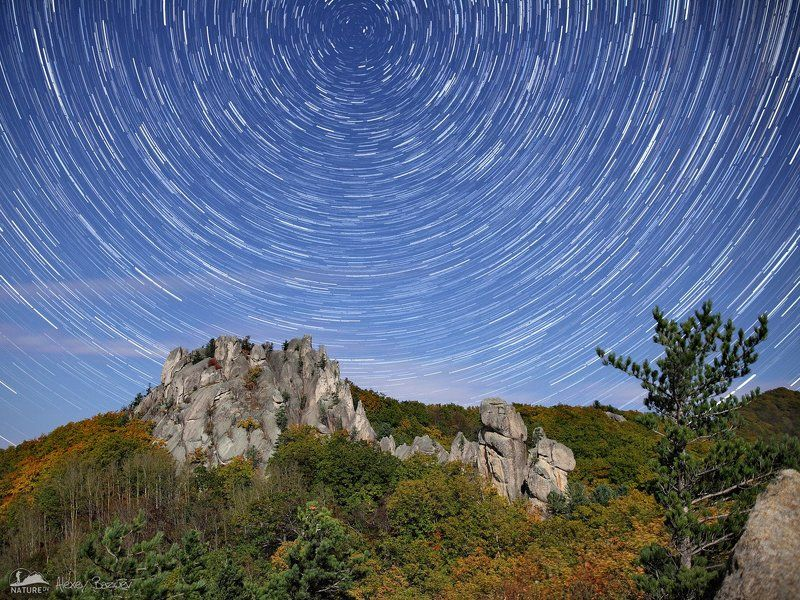 паркдраконов, дальнийвосток, скалы, ночь, звезды Парк Драконов. Цветные сны Каменного Исполинаphoto preview