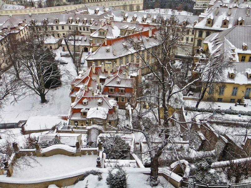 чехия, прага Зима в Парагеphoto preview