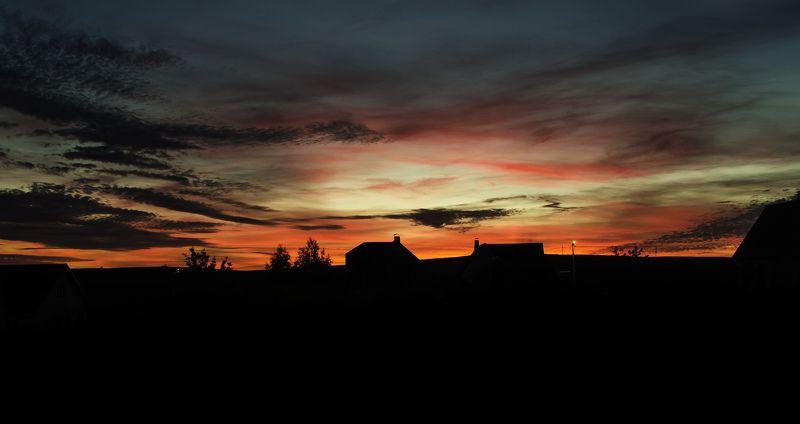 nikon, sky, evening, sunset. Прекрасный закат.photo preview