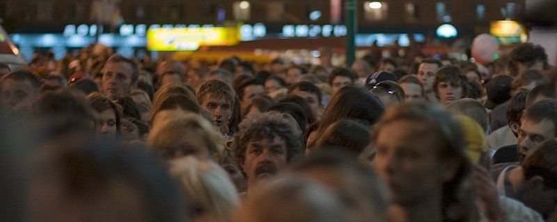 люди, толпа photo preview