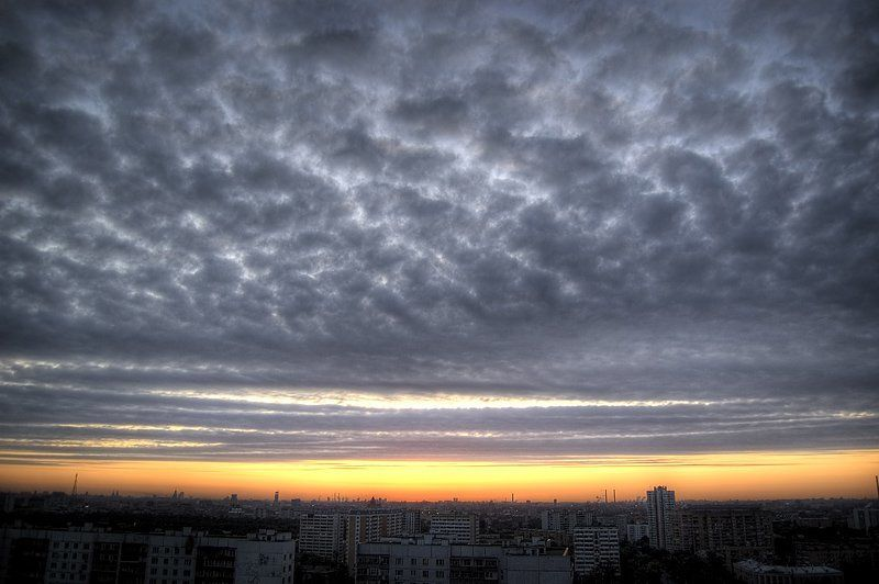 moscow sunrise hdr Sunrise...photo preview