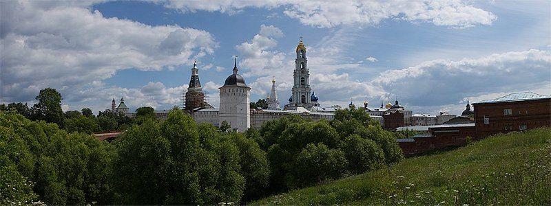сергиев посад лавра панорама Лавраphoto preview