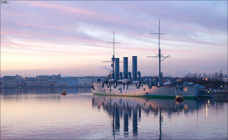 легендарный, крейсер, аврора перламутренняяphoto preview
