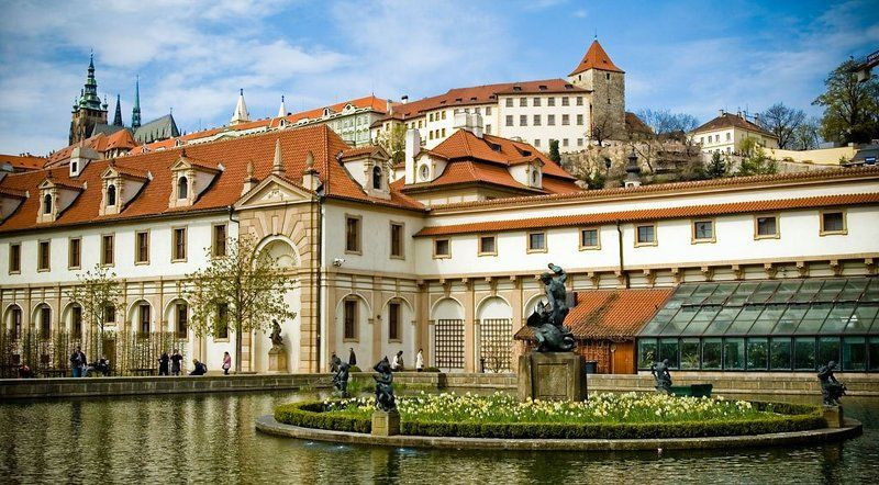 геракл, прага, памятник, статуя, город, чехия, архитектура, весна ***photo preview