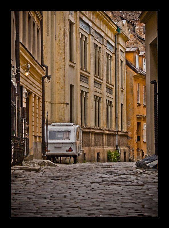 город рига вагончик ...одиночество...photo preview