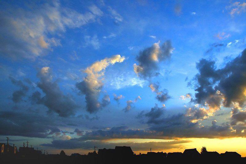 закат, облака, небо,курск В последний вечер полугодияphoto preview
